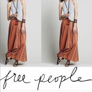 Free people Kathna Maxi Skirt size small